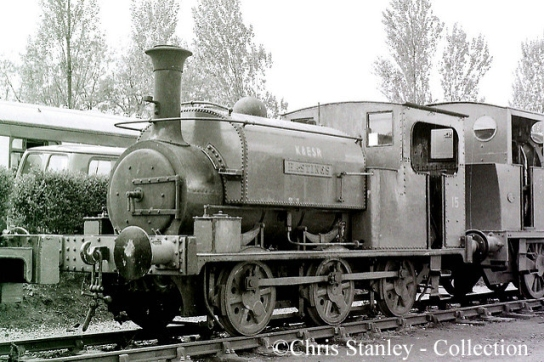 Hunslet 469 on the Kent & East Sussex Railway - March 1970.jpg