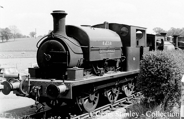 Manning Wardle 1955 on the Kent & East Sussex Railway - July 1970.jpg