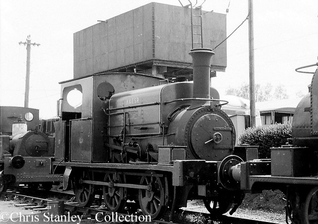 Manning Wardle 2015 on the Kent & East sussex Railway - July 1970.jpg