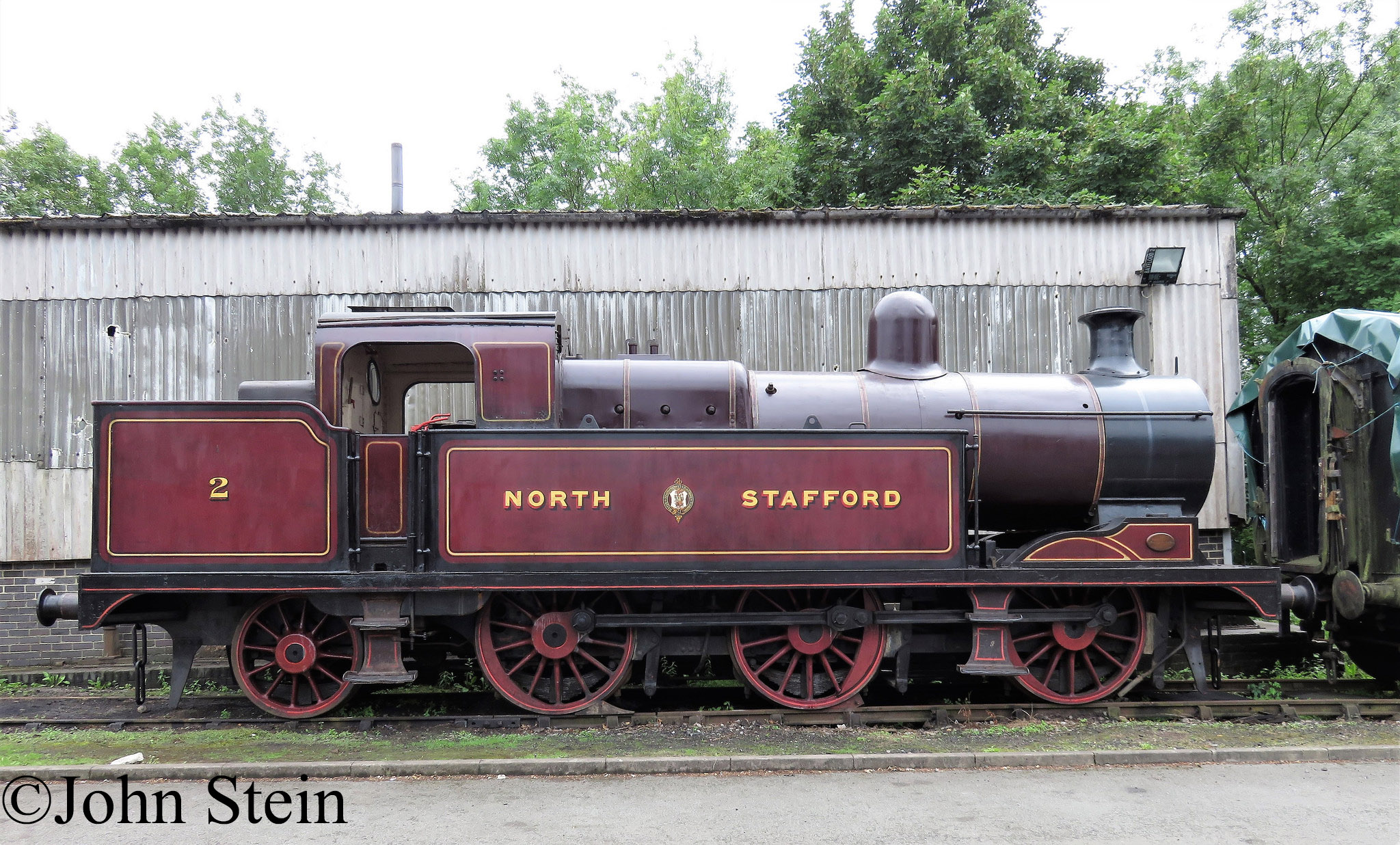 North Staffordshire No 2 at the Foxfield Railway - July 2017.jpg