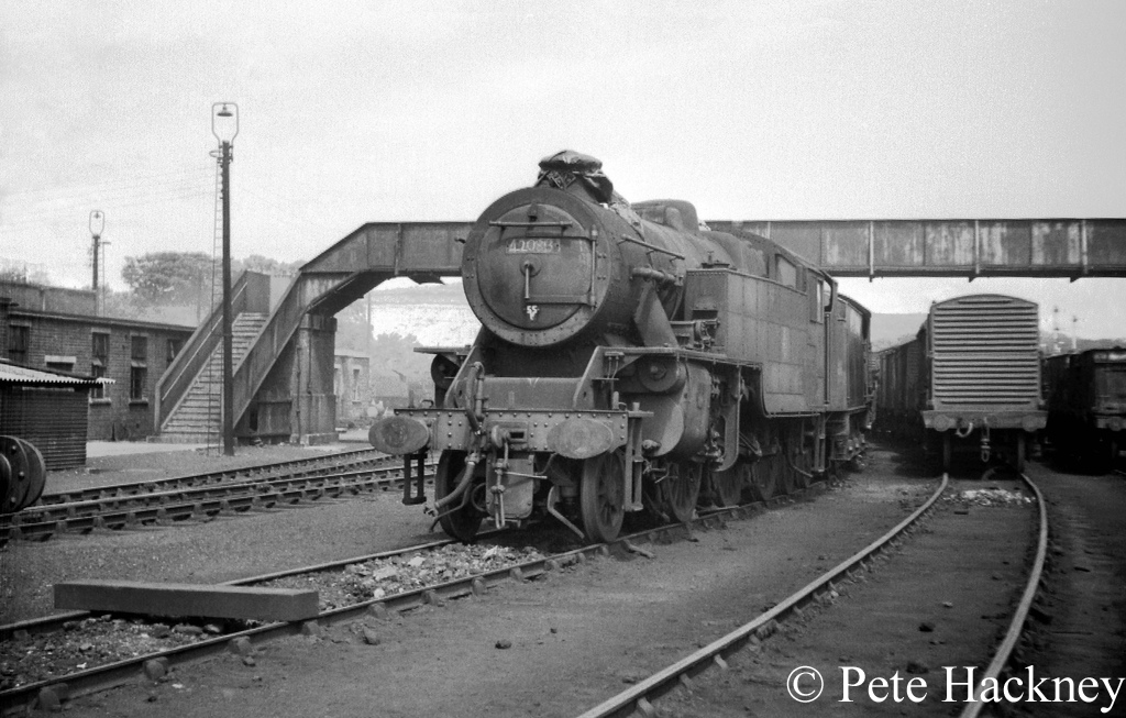 42085 in store at Carnforth - June 1968