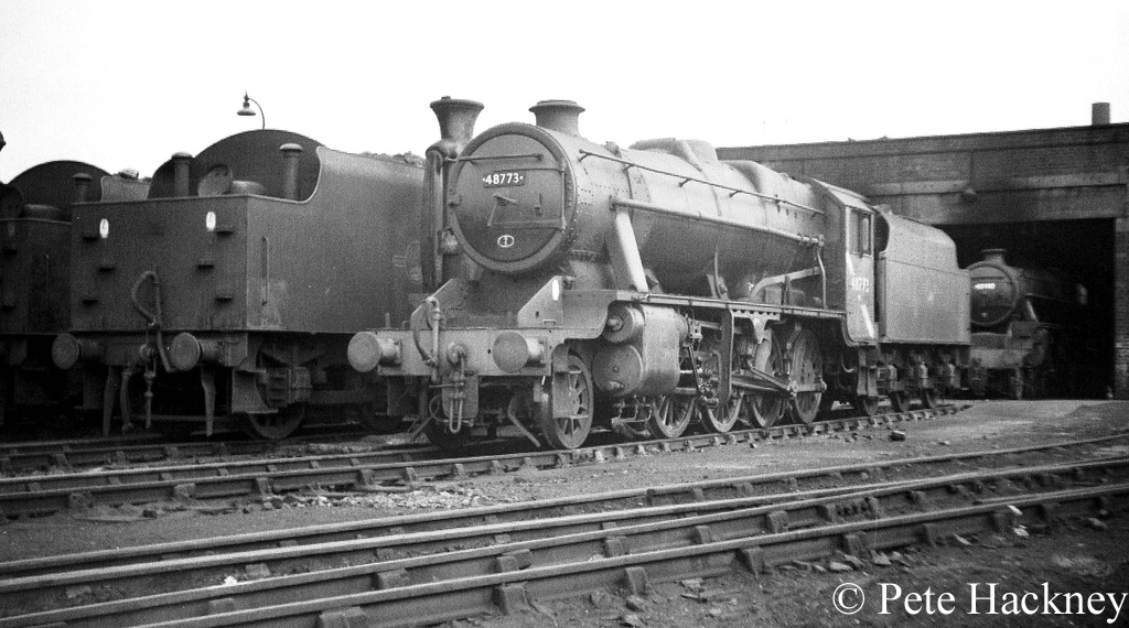 48773 on Bolton shed - June 1968