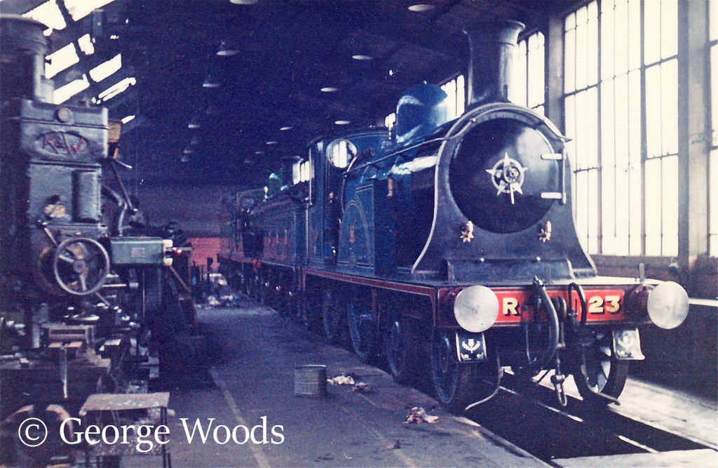 123 in Eastfields shed, Glasgow - April 1965.jpg