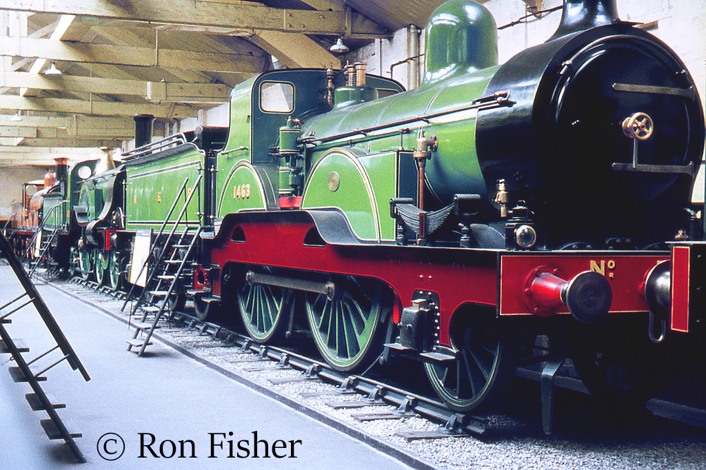 1463 in the British Transport Museum at York - June 1960.jpg