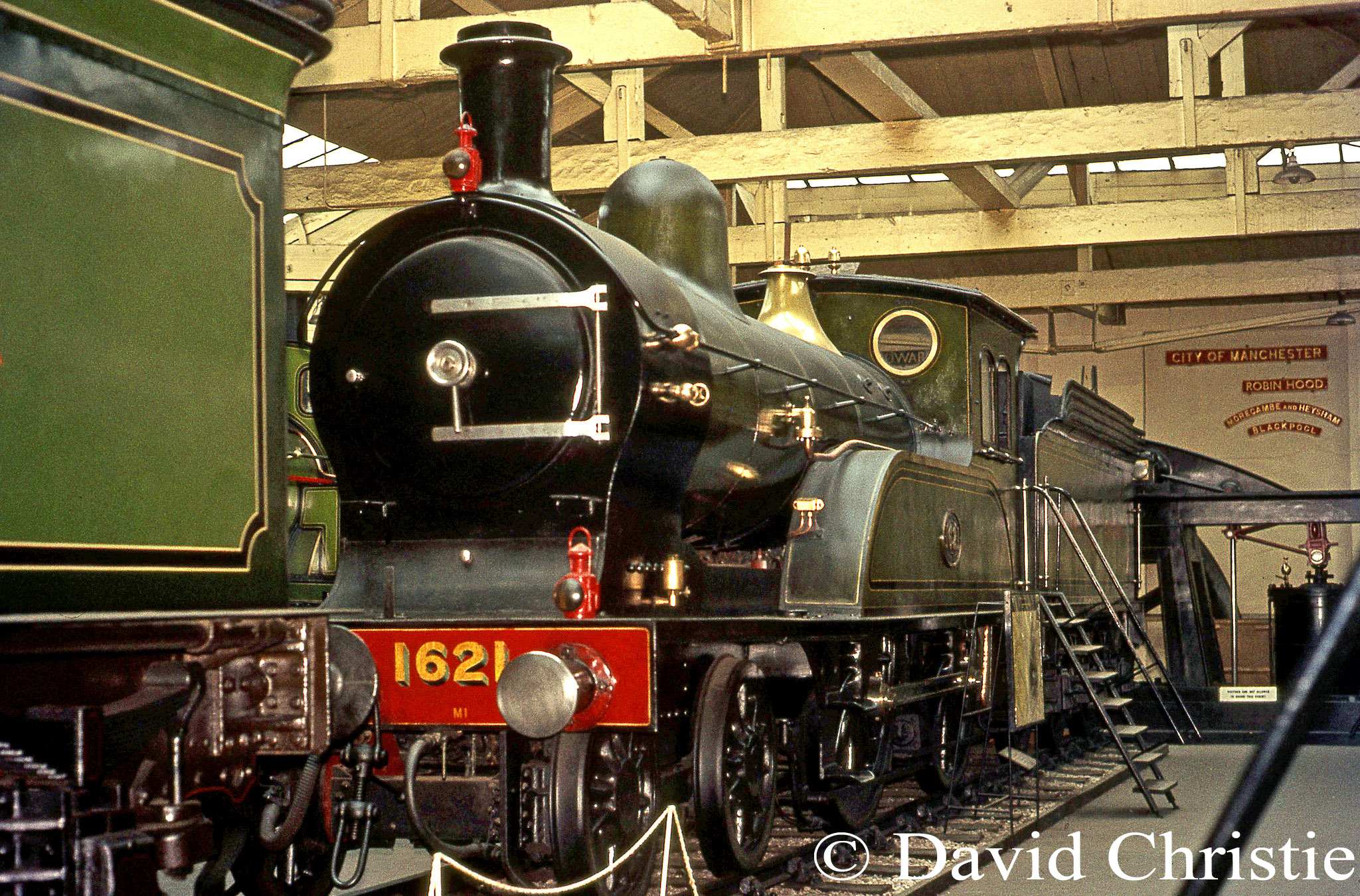 1621 in the British Transport Museum at York - July 1972