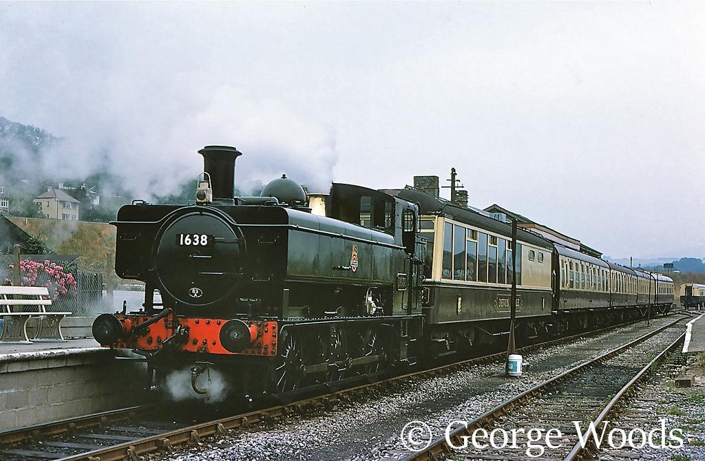 1638 at Buckfastleigh on the South Devon Railway - July 1977