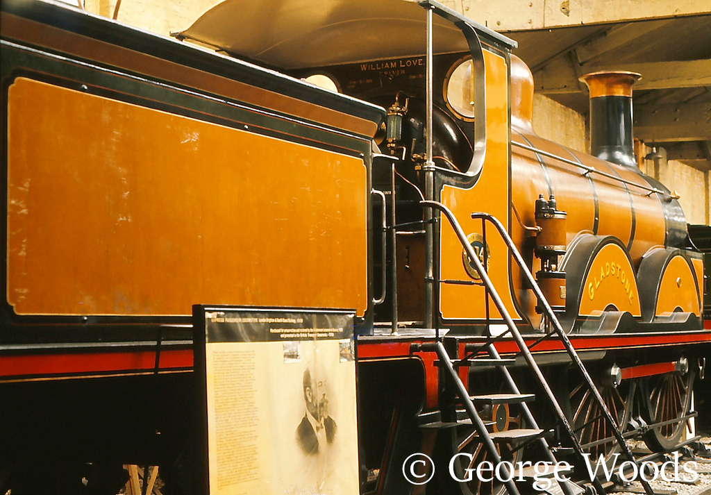 214 Gladstone in the British Transport Museum at York - May 1966.jpg