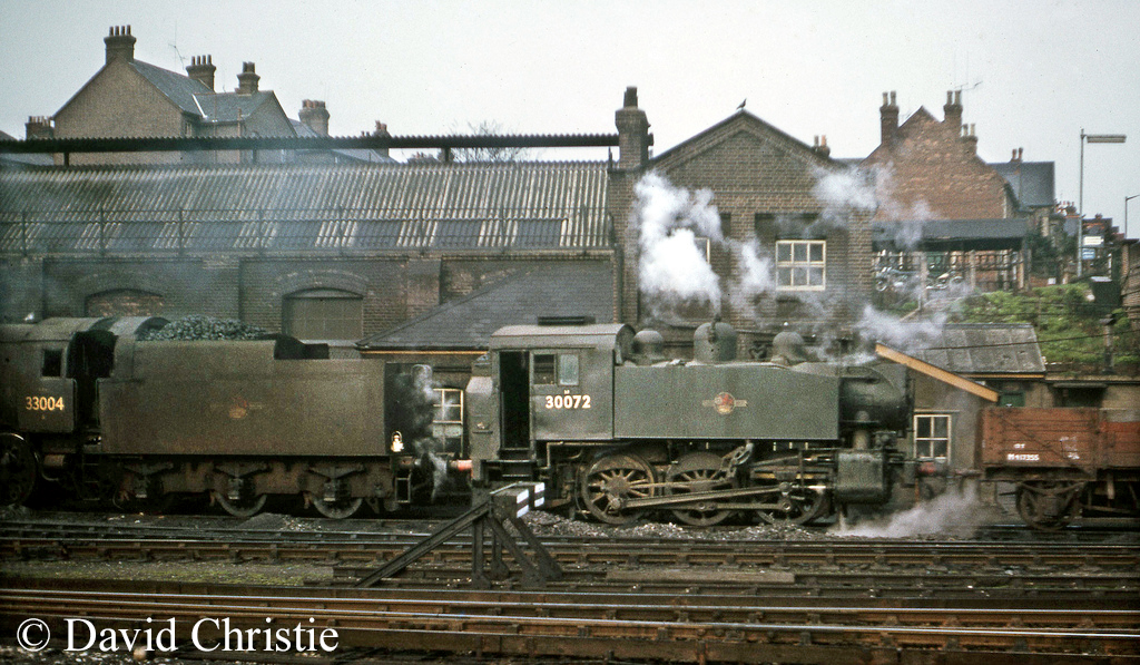 30072 on Guildford shed - April 1964.jpg
