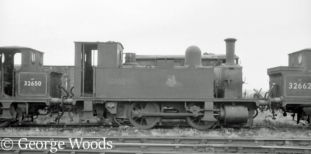 30102 at Eastleigh - June 1964.jpg