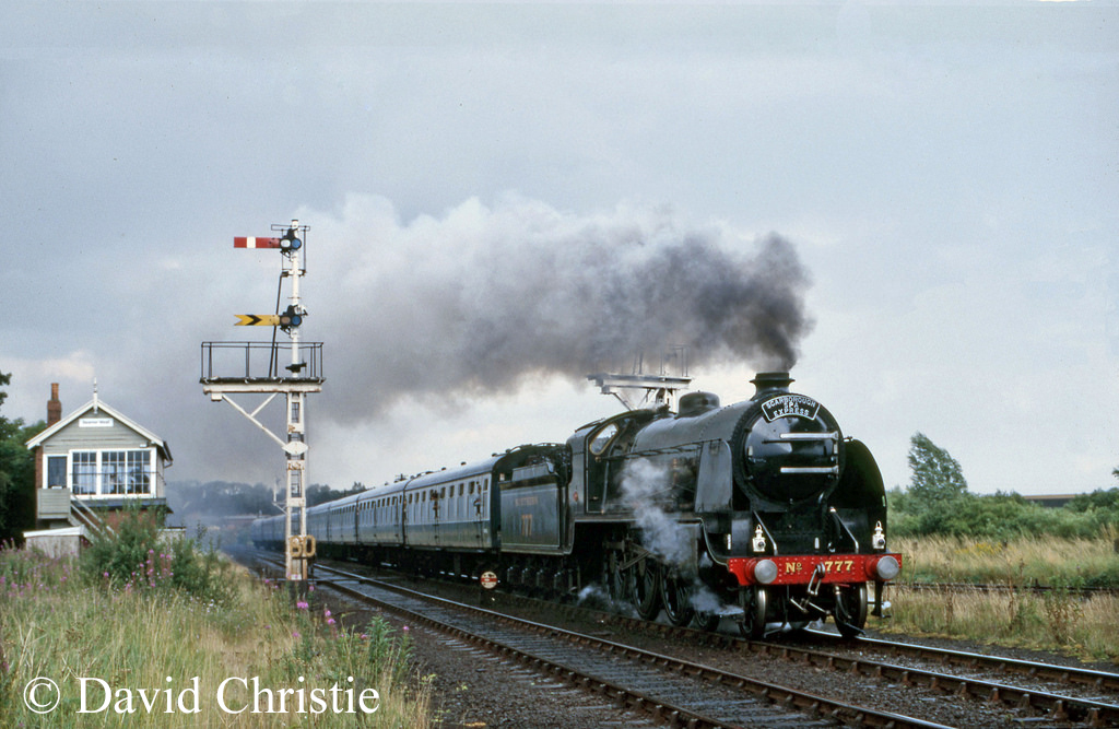 30777 Sir Lamiel at Seamer Junction leaving Scarborough - August 1985.jpg