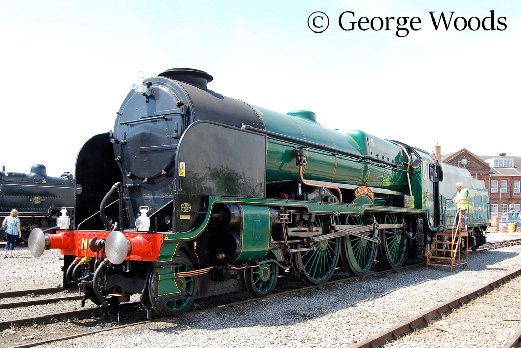 30850 Lord Nelso at Eastleigh Works Open Day - May 2009.jpg