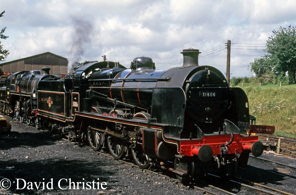 31806 at Ropley on the Mid Hants Railway - August 1985.jpg