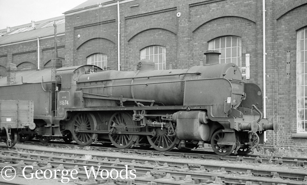 31874 in Woodham's scrapyard at Barry - June 1964.jpg
