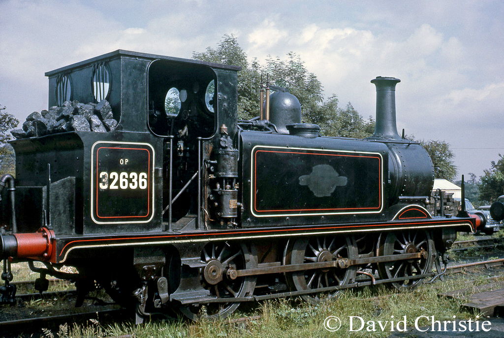 32636 at Sheffield Park on the Bluebell Railway - June 1964.jpg