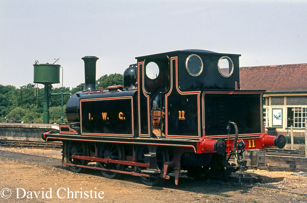 32640 as W11 at Havenstreet on the Isle of Wight Steam Railway - July 1975.jpg