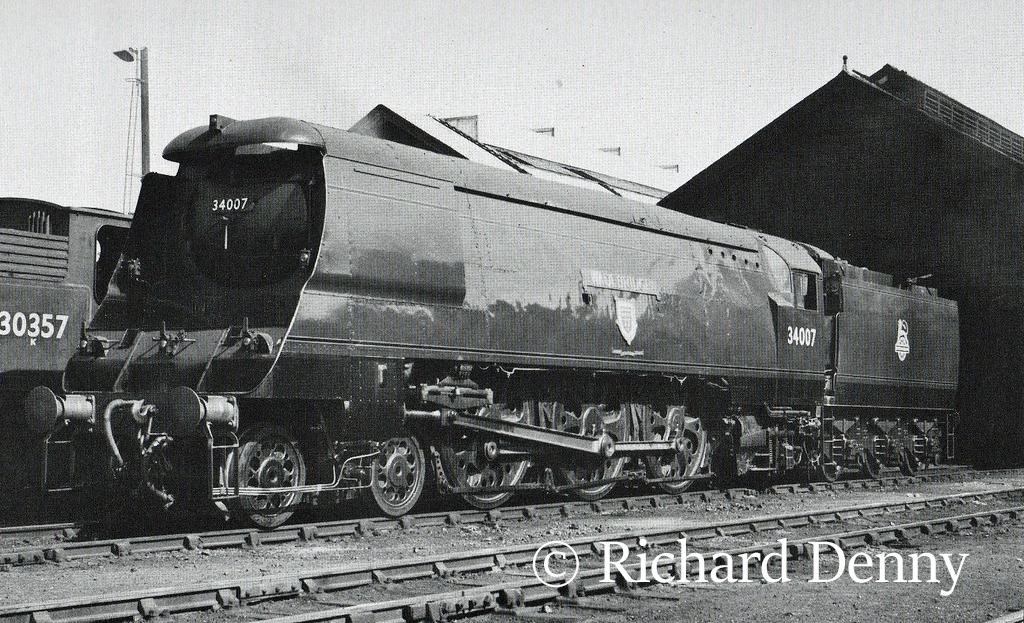 34007 Wadebridge at Eastleigh - 1951.jpg
