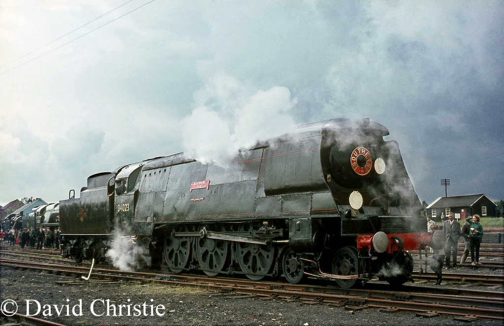 34023 Blackmore Vale at the Longmoor Military Railway - June 1968.jpg
