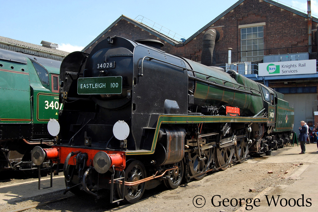 34028 Eddystone at Eastleigh Works Open Day - May 2009.jpg