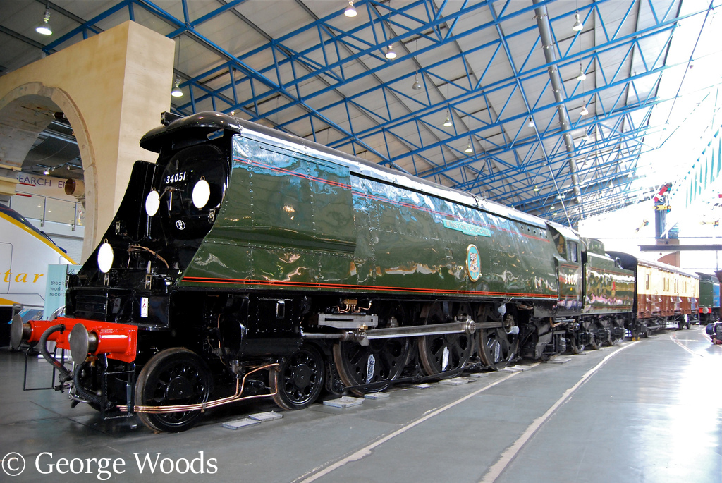 34051 Winston Churchill in the NRM at York - August 2015.jpg