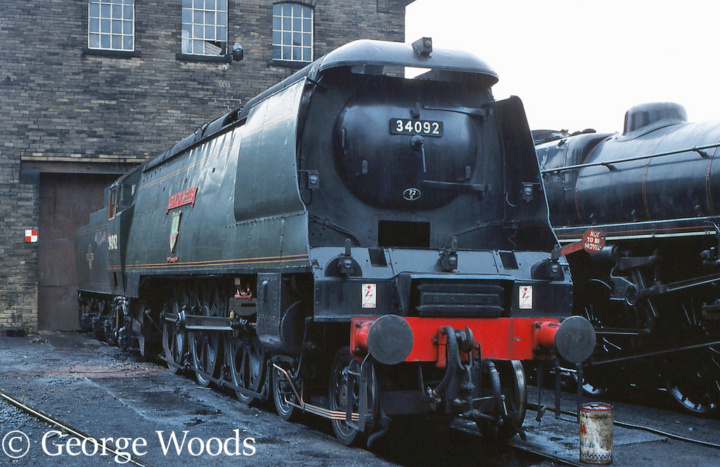 34092 City of Wells at Haworth on the KWVR - July 1989.jpg
