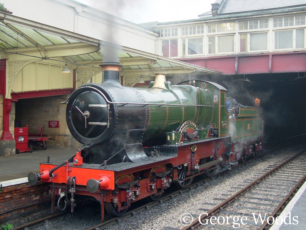 3440 City of Truro at Keighley on the KWVR - October 2005.jpg