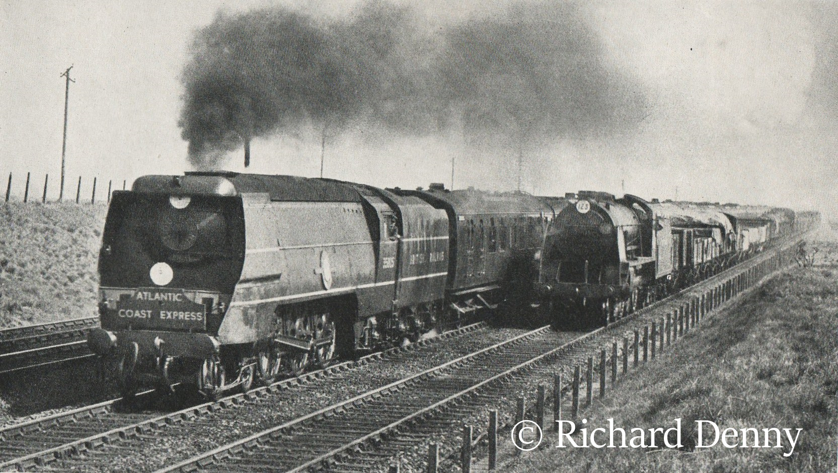 35005 Canadian Pacific hauling the Atlantic Coast Express near Basingstoke - 1950.jpg