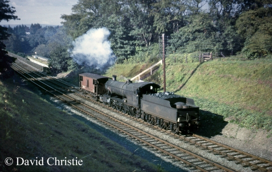 3855 at Chirk September 1965