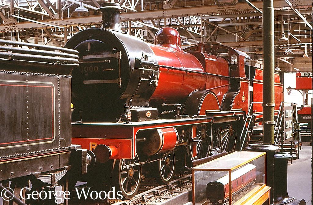 41000 in the British Transport Museum at Clapham - 1972.jpg