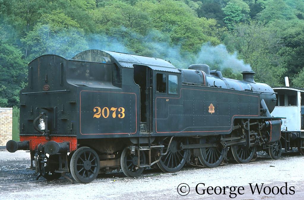42073 on the Lakeside & Haverthwaite Railway - July 1989.jpg