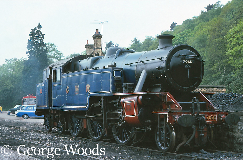42085 on the Lakeside & Haverthwaite Railway - July 1989.jpg