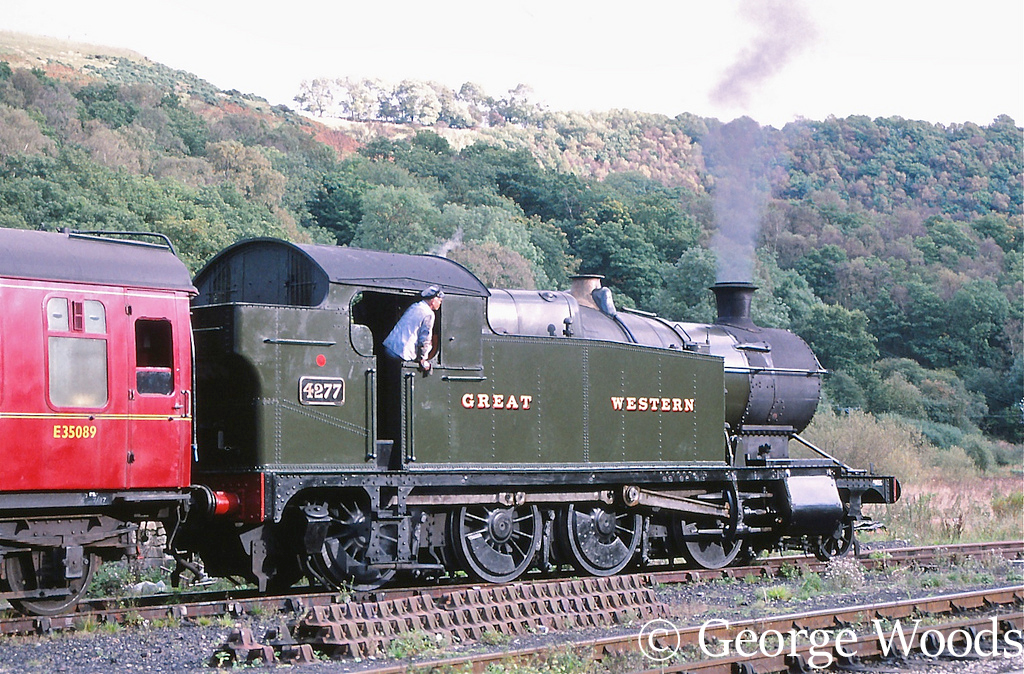 4277 on the North Yorkshire Moors Railway - October 1997