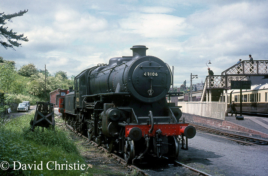 43106 at Bridgnorth on the Severn Valley Railway - May 1970.jpg
