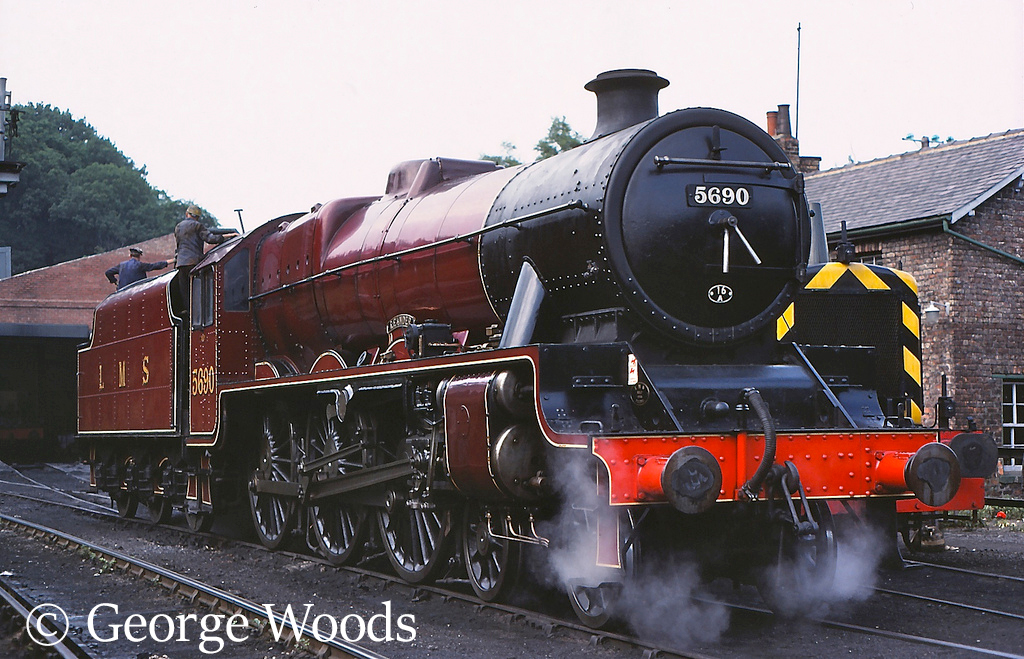 45690 Leander at Grosmont on the North Yorkshire Moors Railway - July 1983.jpg