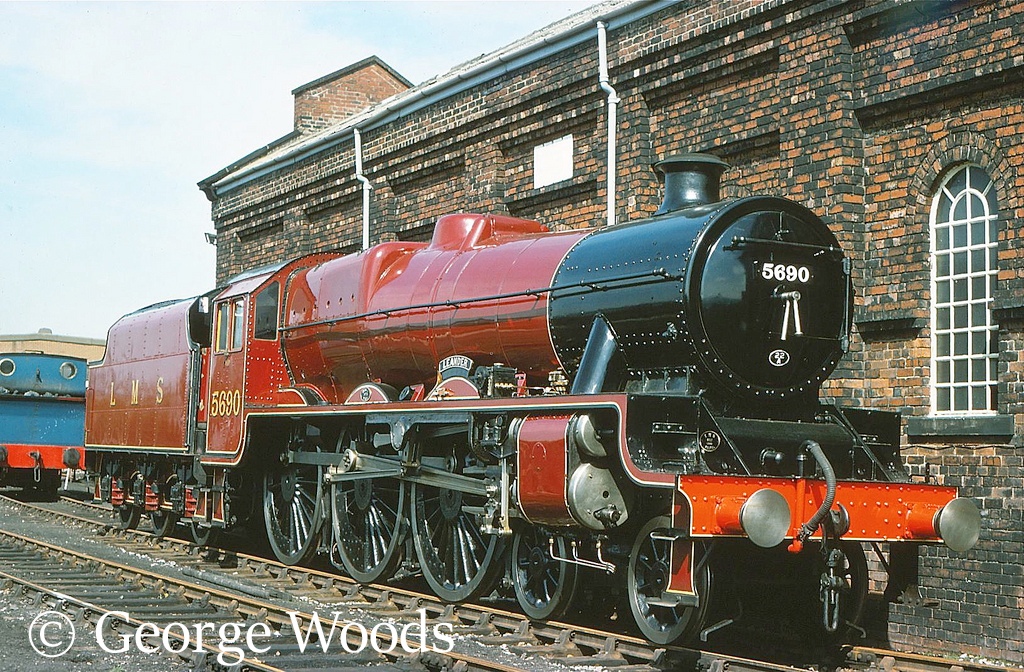 45690 Leander at the Dinting Railway Centre - April 1977.jpg