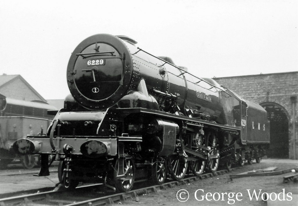 46229 Duchess of Hamilton at Crewe Works - April 1964.jpg