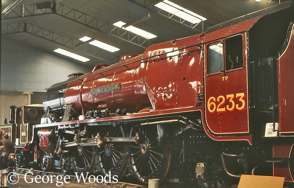 46233 Duchess of Sutherland at Bressingham - May 1975.jpg