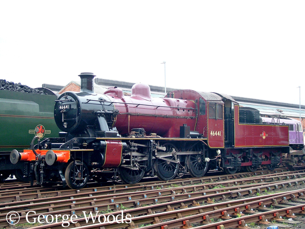 46441 at Crewe Works Open Day - September 2005.jpg