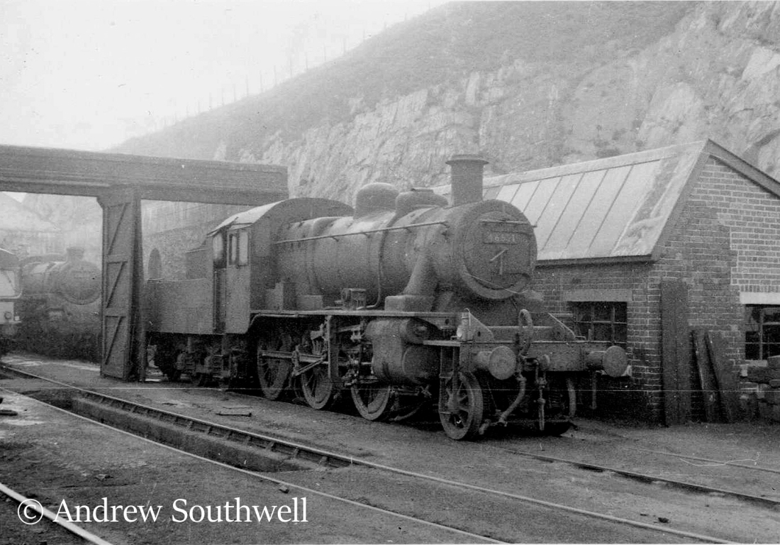 46521 on the shed at Machylleth - October 1966.jpg