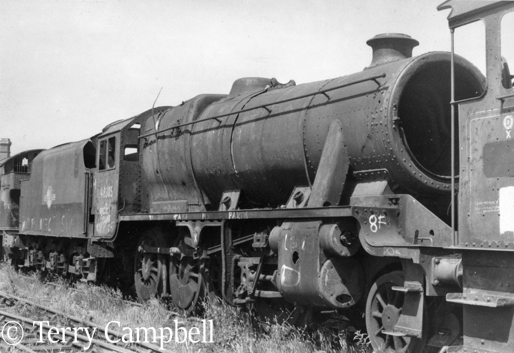 48305 in Woodham'd scrapyard at Barry - June 1975.jpg