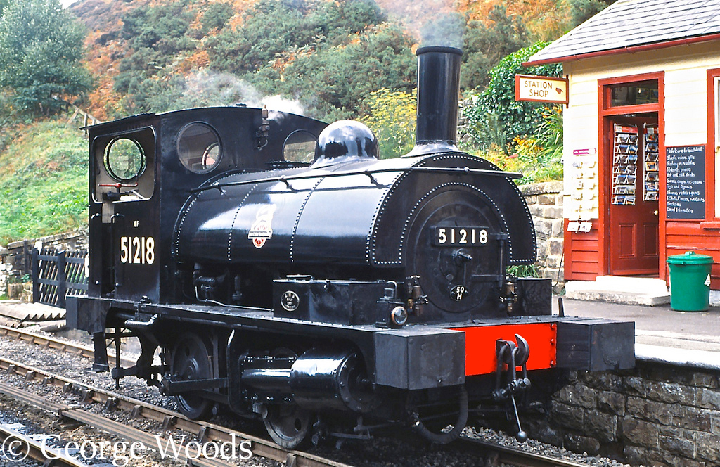 51218 at Goathland on the North Yorkshire Moors Railway - October 2001.jpg