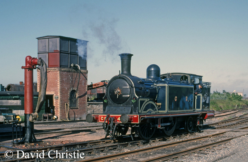55189 on the shed at Boness - June 1986.jpg