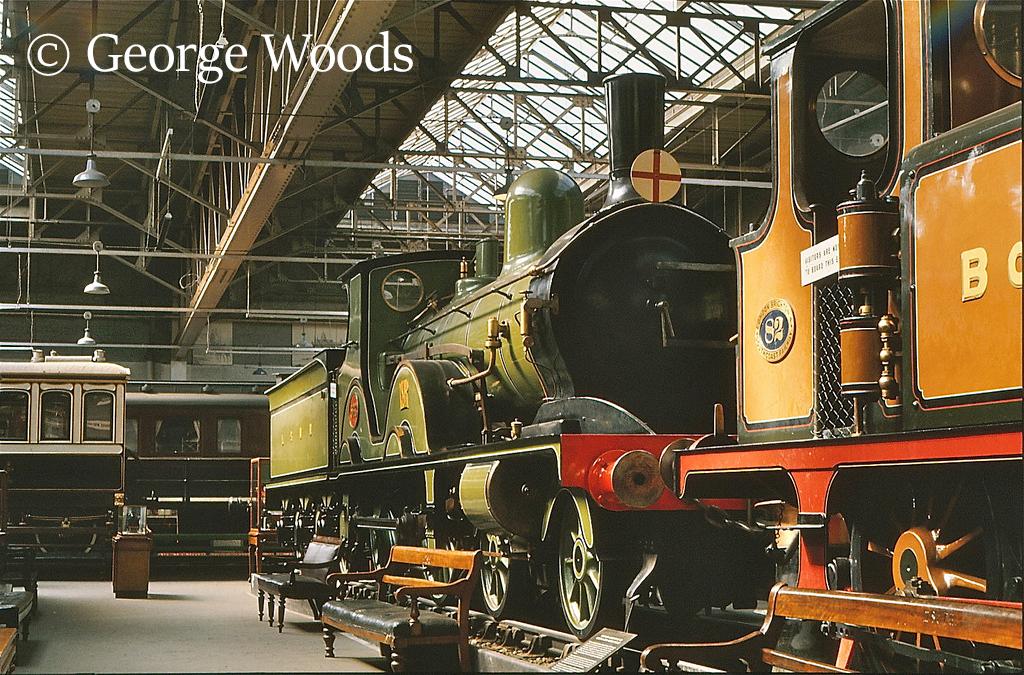 563 in the British Transport Museum at Clapham - 1972.jpg