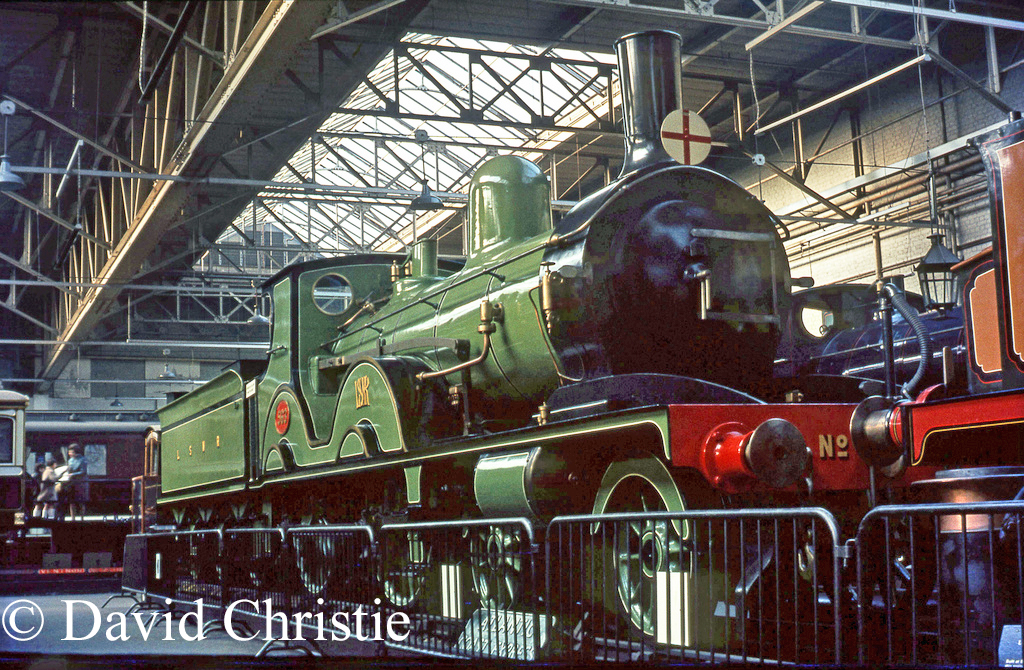 563 in the Clapham Museum - November 1968