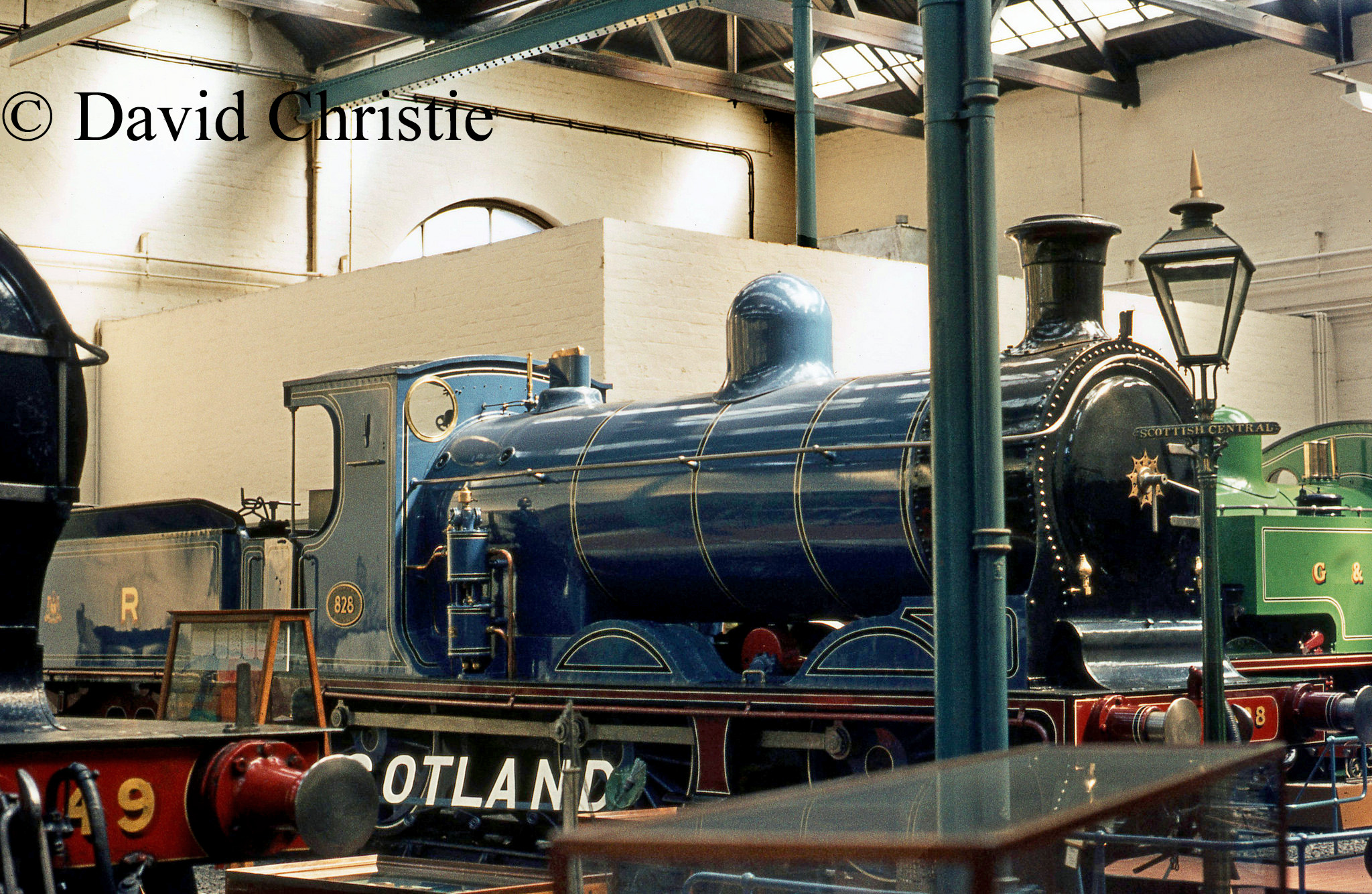 57566 in the Glagow Pollokshield Museum - April 1973.jpg
