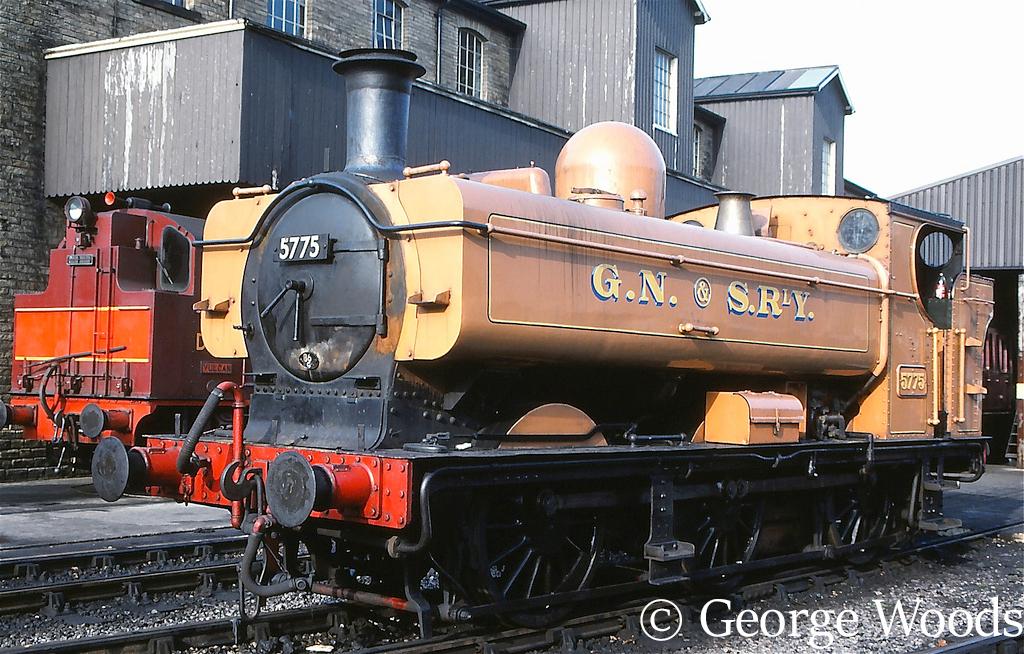 5775 at Haworth on the KWVR - October 1990.jpg