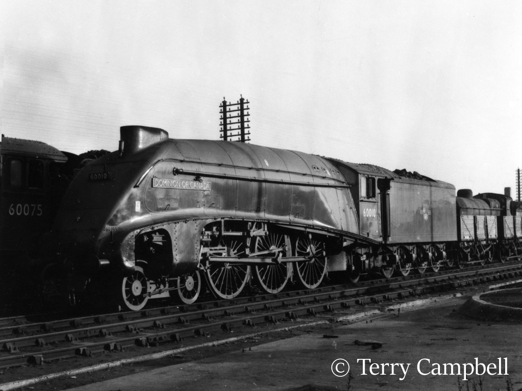 60010 Dominion of Canada outside the shed at Doncaster - December 1962.jpg