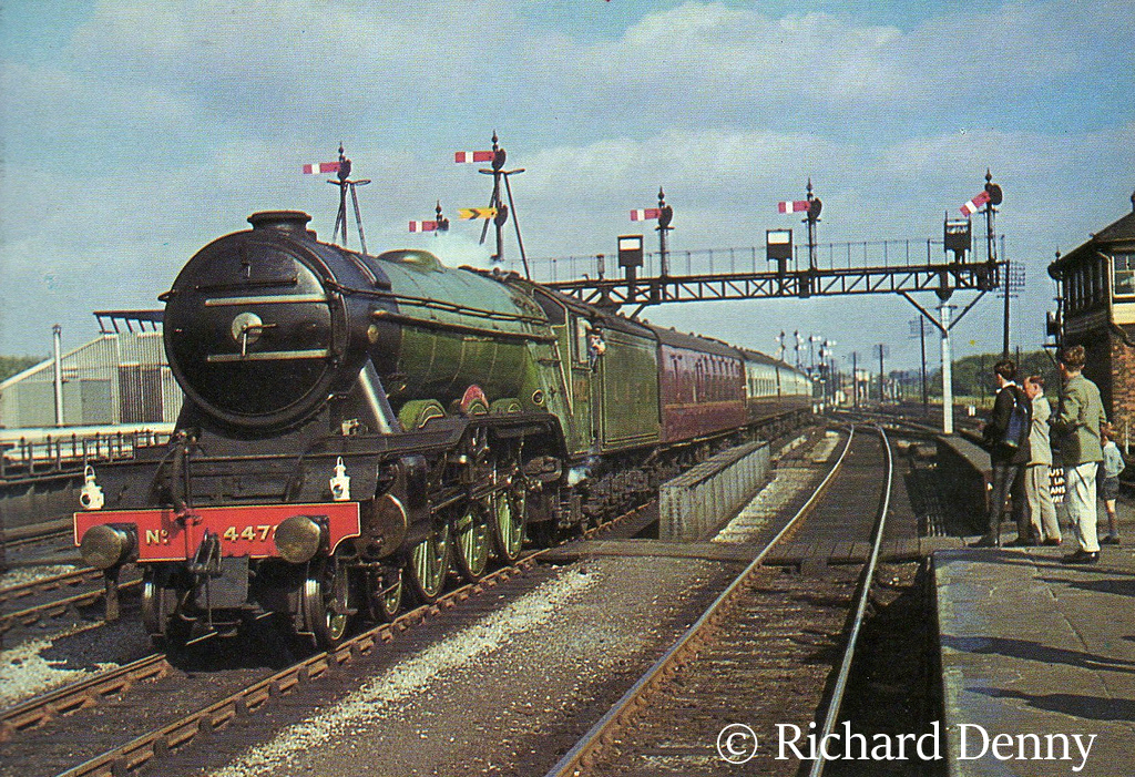 60103 Flying Scotsman passes through Oxford with Alan Peglar peering out of the cab - September 1964.jpg