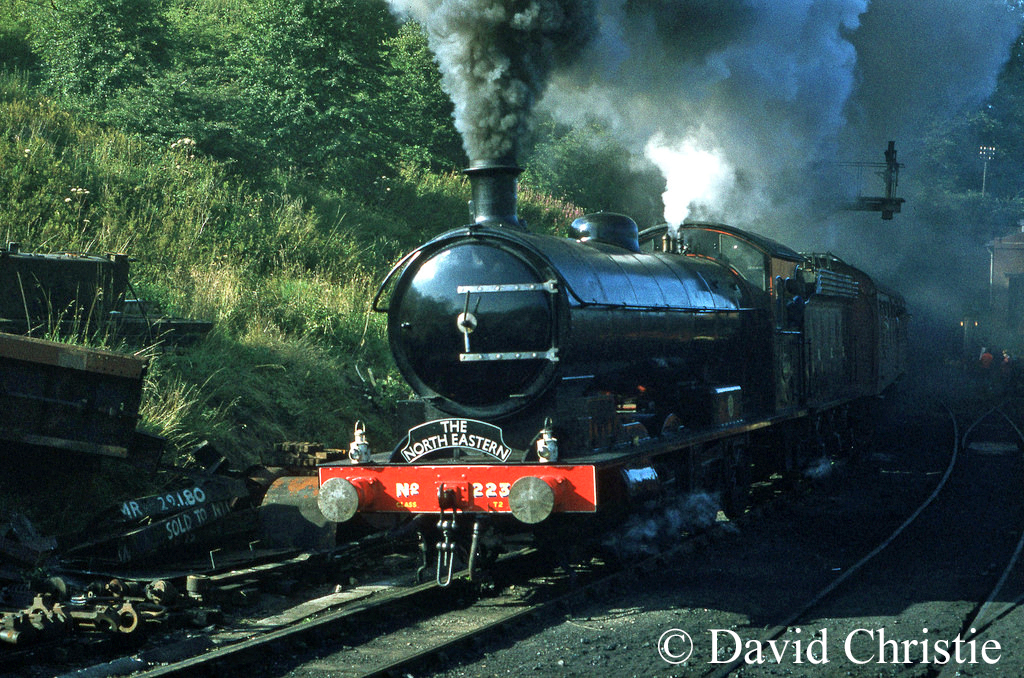 63395 at Grosmont on the North Yorkshire Moors Railway - August 1981.jpg
