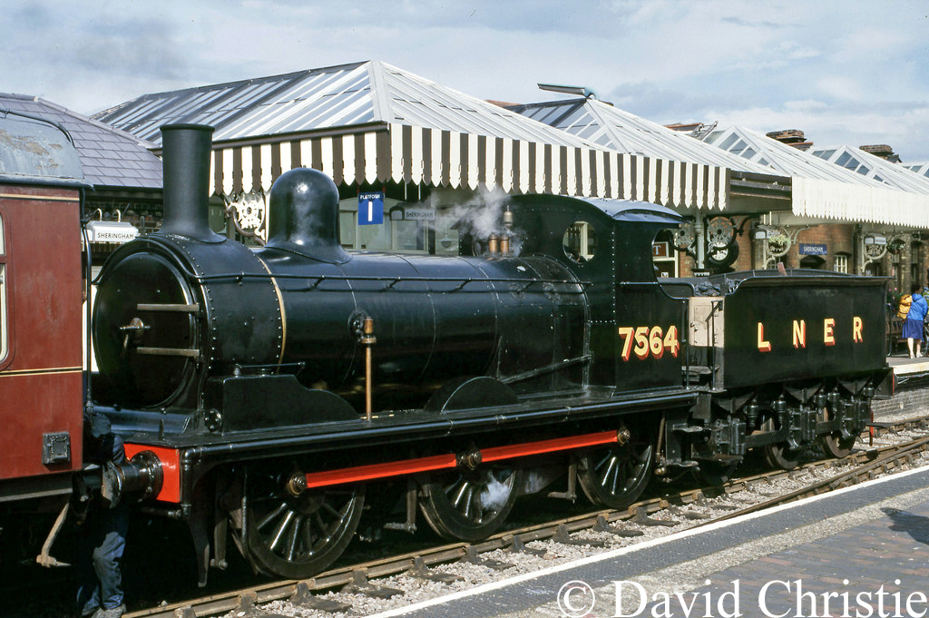 65462 at Sheringham on the North Norfolk Railway - August 1985.jpg