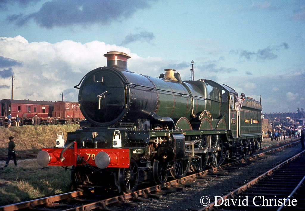 7029 Clun Castle at Tyseley - September 1968.jpg